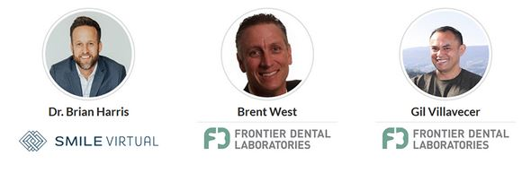 dr. brian harris, brent west and gil villavacer