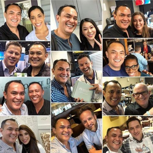 collage of dentists with gil_frontierdental